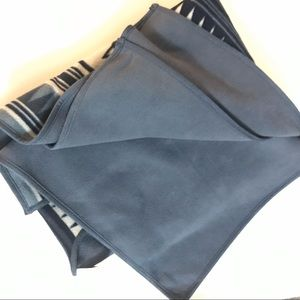 Woolrich Accessories - Woolrich Reversable Blanket Wrap Blue Aztec OS